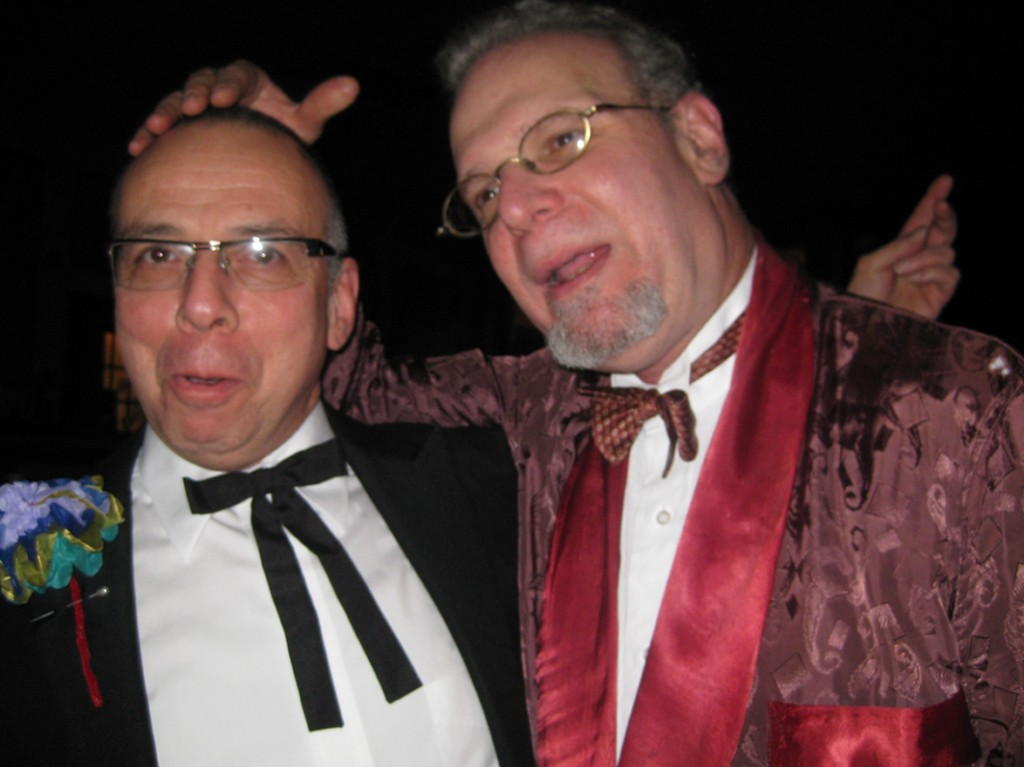 Michael Wex and Henry Sapoznik at Klezkamp 2009