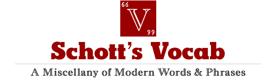 Schott's Vocab blog New York Times