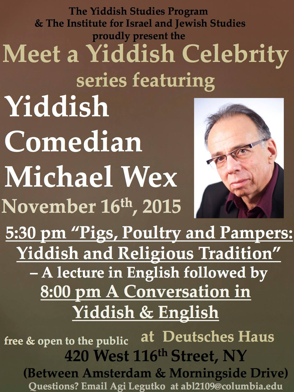 Pigs, Poultry, and Pampers: Yiddish and Religious Traditions